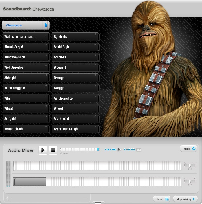 starwars soundboards