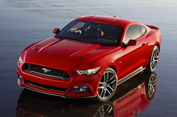 Ford dévoile sa Mustang 2015